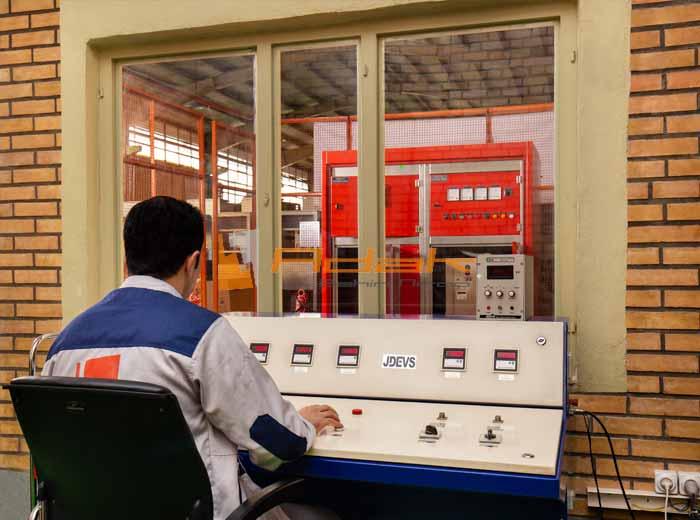 کنترل کیفیت تابلو برق صنعتی--