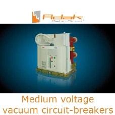 medium voltage vacuum circuit breakers