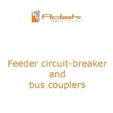 feeder circuit breaker and bus couplers